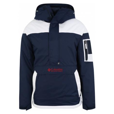 COLUMBIA Outdoorová bunda 'Challenger'  námornícka modrá / biela