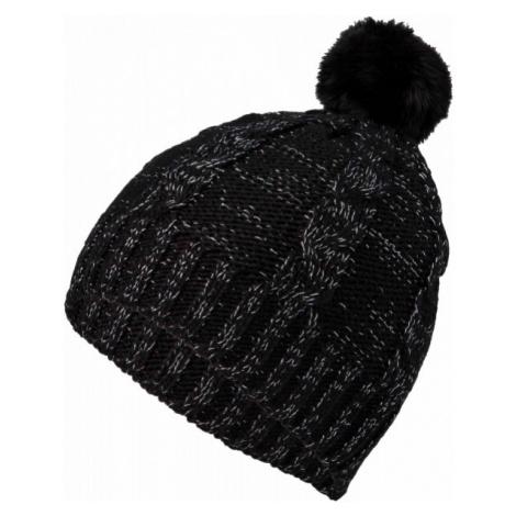 Lewro CORSOLA čierna - Dievčenská pletená čiapka