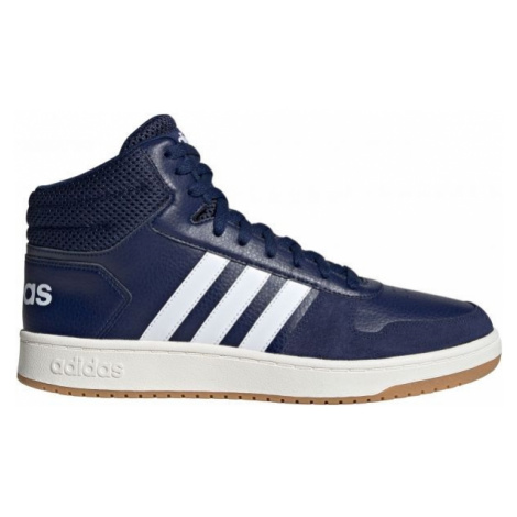 adidas HOOPS 2.0 MID modrá - Pánska voľnočasová obuv