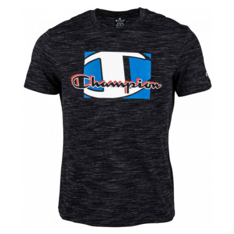 Champion CREWNECK T-SHIRT čierna - Pánske tričko