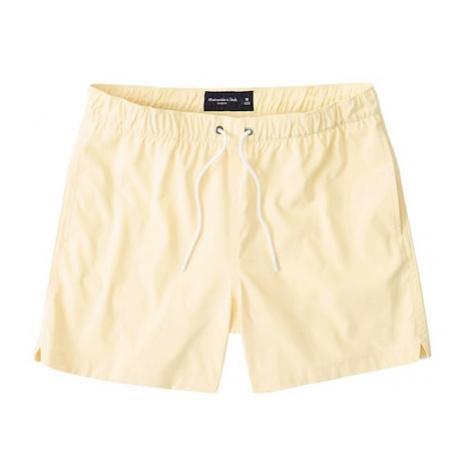 Abercrombie & Fitch Plavecké šortky  žltá