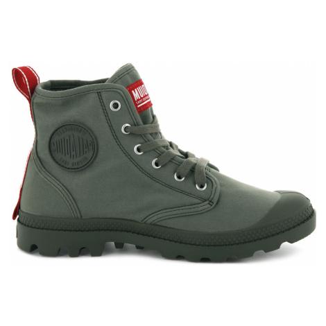Palladium  Boots Hi Du C Olive Night-10 zelené 76258-325-M-10