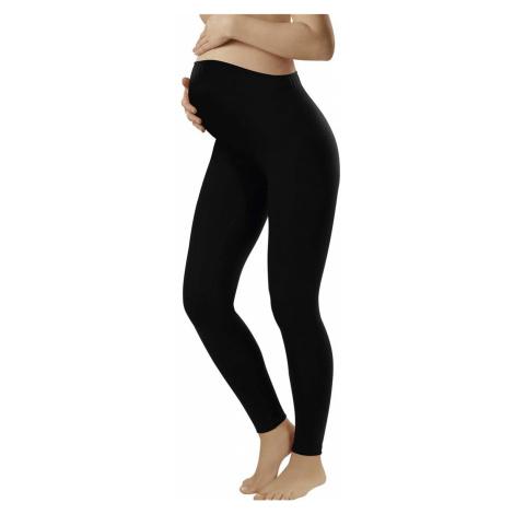 Tehotenské prádlo Leggins long black Italian Fashion