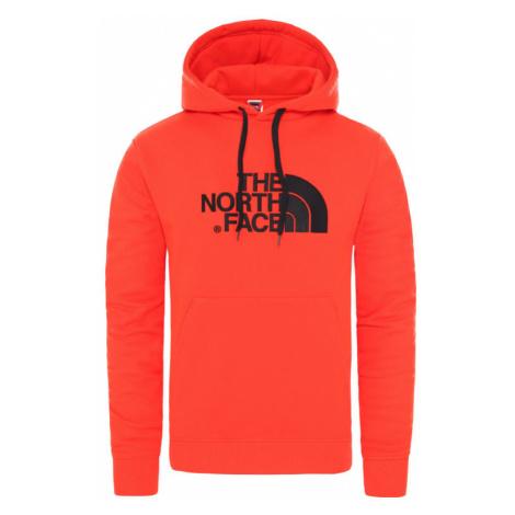 The North Face M Drew Peak Pullover Hoodie - Eu Fiery Red/Tnf Black-XXL oranžové NF00AHJYWU5-XXL
