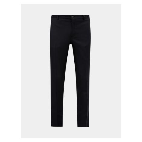 Jack & Jones čierne pánske nohavice Solaris slim fit