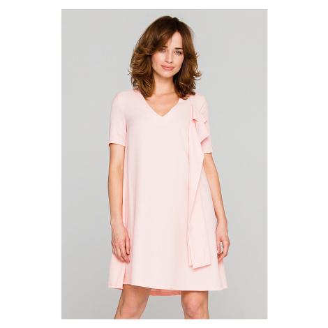 Svetloružové šaty PE69 Peperuna