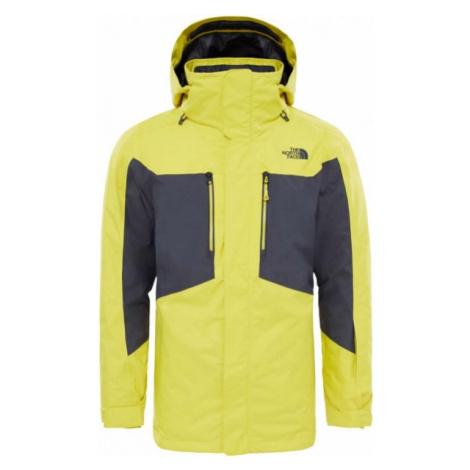 The North Face CLEMENT TRICLIMATE JACKET žltá - Pánska zimná bunda