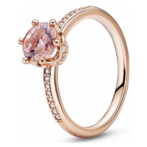 Pandora Bronzový prsteň s kamienkami 188289C01 mm