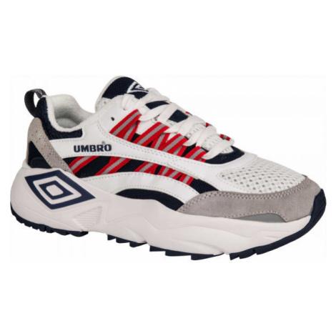 Umbro NEPTUNE LE biela - Pánska voľnočasová obuv