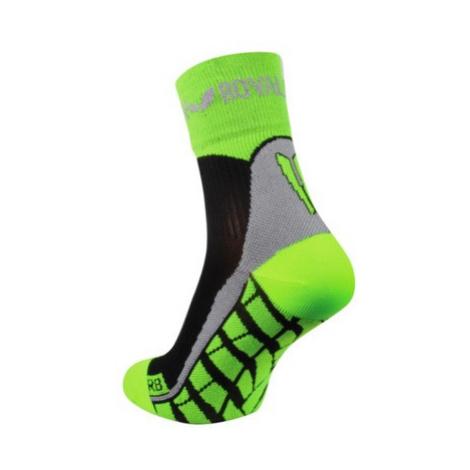Ponožky ROYAL BAY® Air High-Cut black / green 9688