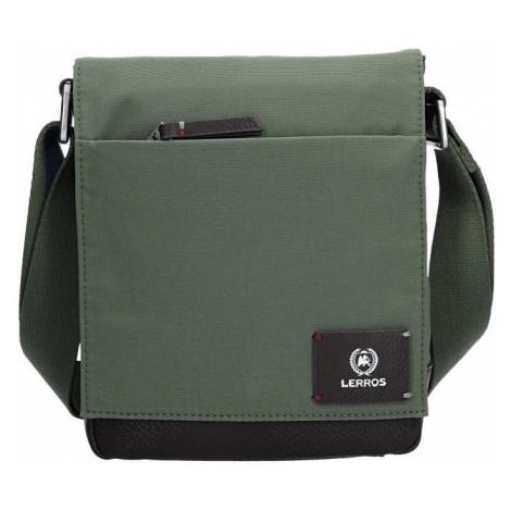 Pánska taška cez rameno Lerros Nomad - zelená
