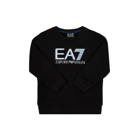 EA7 Emporio Armani Mikina 3HBM53 BJ05Z 1200 Čierna Regular Fit