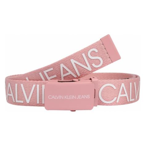 Calvin Klein Jeans Opasky  ružová / biela