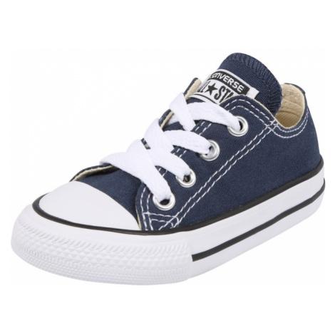 CONVERSE Tenisky  biela / námornícka modrá