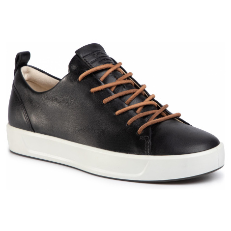 Sneakersy ECCO - Soft 8 W 45093301001 Black