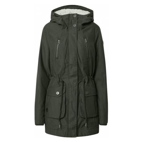 Ragwear Zimný kabát 'Elsa'  tmavozelená
