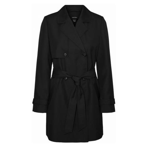 VERO MODA Prechodný kabát 'Celeste'  čierna