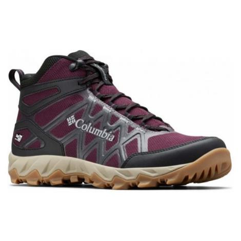 Columbia PEAKFREAK X2 MID fialová - Dámska outdoorová obuv