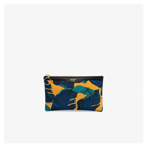 Saténová mini listová kabelka Barbados Pocket Clutch WOUF