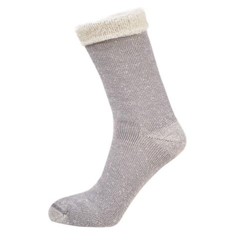Ponožky Camel Active Camel Women Bootsocks Teddyoptic Grey Mel 35-38
