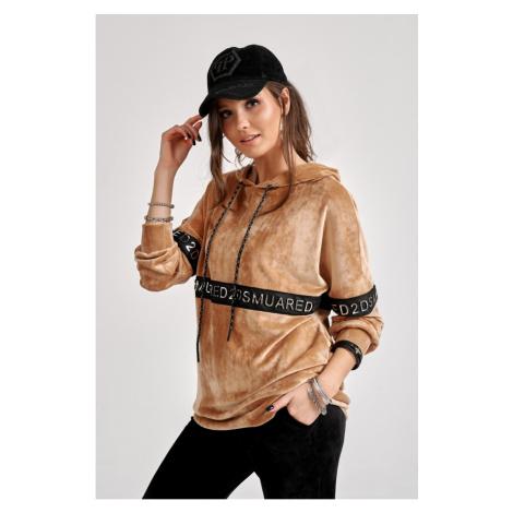 Roco Woman's Hoodie BLZ0004 Camel