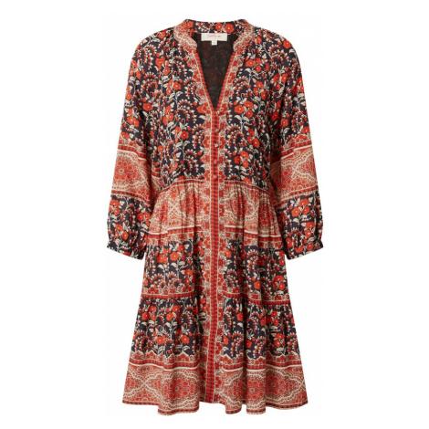 Derhy Košeľové šaty 'SAVOIE'  červená / čierna / biela