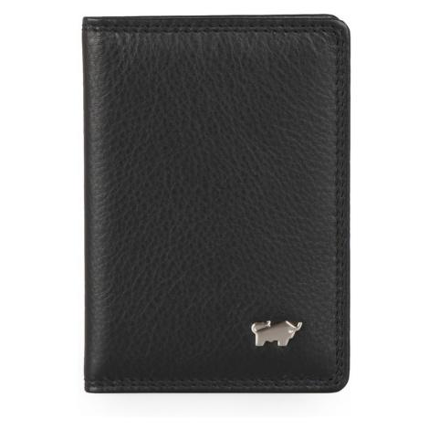 Braun Büffel Kožené puzdro na karty a vizitky Golf 2.0 90446-051 - černá