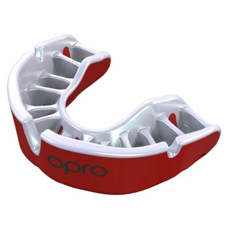 Chránič zubov OPRO Gold UFC senior - červený