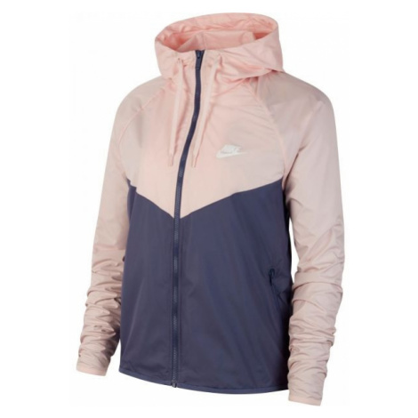 Nike NSW WR JKT FEM ružová - Dámska bunda