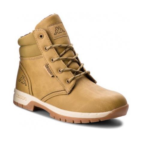 Šnurovacia obuv KAPPA Cammy Fur K 260637K koža ekologická