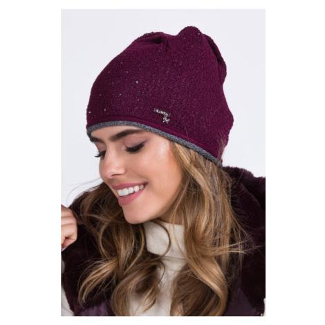 Kamea Woman's Hat K.16.023.14 Maroon