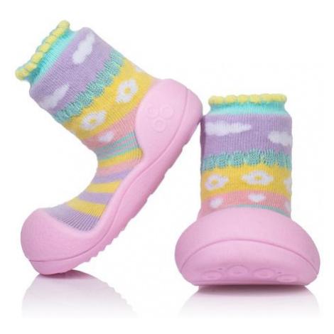 ATTIPAS Dievčenské topánočky Attibebe, veľ. - ružová
