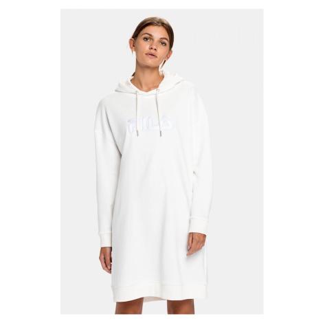 FILA Felice teplákové šaty dámska - biele Veľkosť: XS