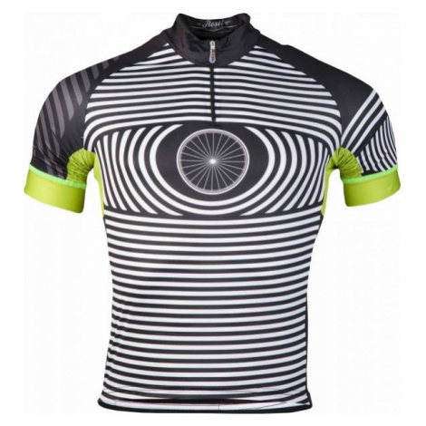 Rosti EYE KR ZIP čierna - Pánsky cyklistický dres