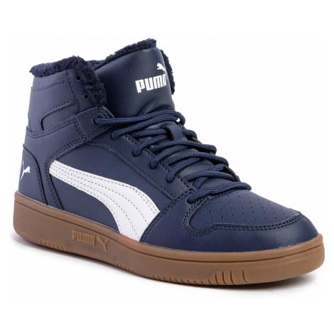 Sneakersy PUMA - Rebound Layup Sl Fur 369830 02 Peacoat/Puma White/Gum