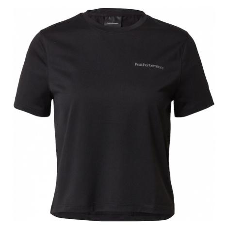 PEAK PERFORMANCE Funkčné tričko  čierna