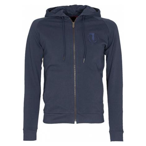 Trussardi Pánska mikina Full Zip Fleece With Hood Pure Cotton Regular Fit