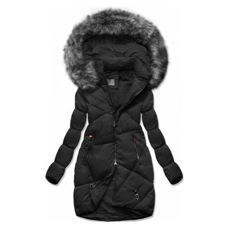 MODOVO Zimná prešívaná bunda čierna