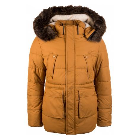 Urban Classics Zimná bunda  svetlohnedá