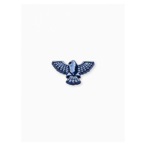 Ombre Clothing Men's lapel pin eagle A231 Navy/Blue