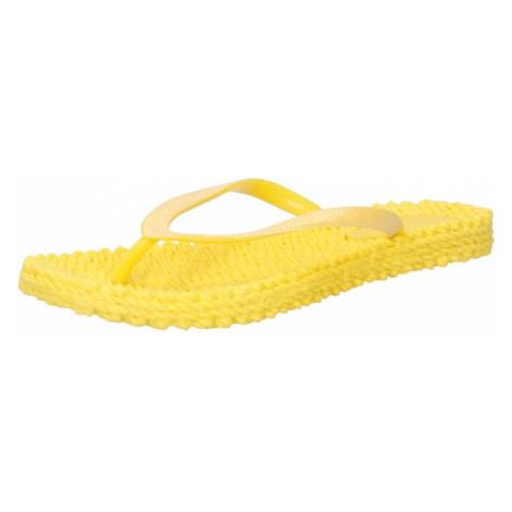 ILSE JACOBSEN Žabky  žltá