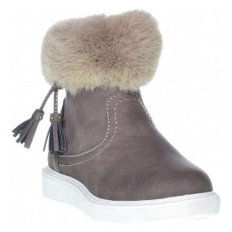 Junior League AGNETA hnedá - Detská zimná obuv