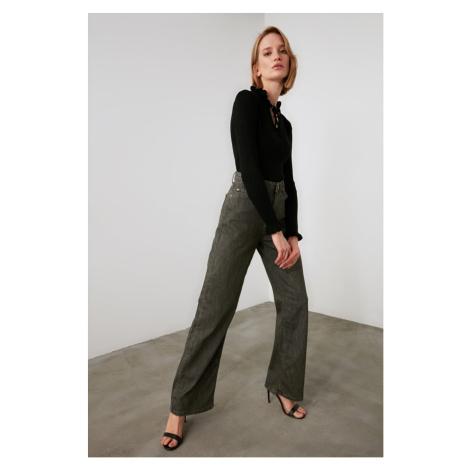 Trendyol Khai High Waist Wide Leg Jeans