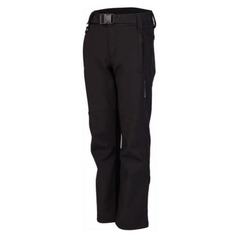 Lewro DALEX čierna - Detské softshellové nohavice