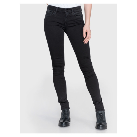 Luz Jeans Replay Čierna