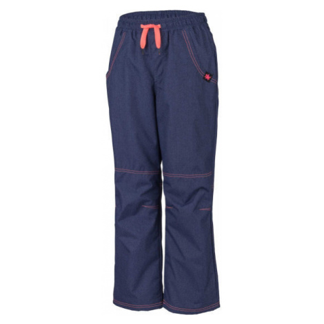 Lewro SIGI oranžová - Detské zateplené nohavice