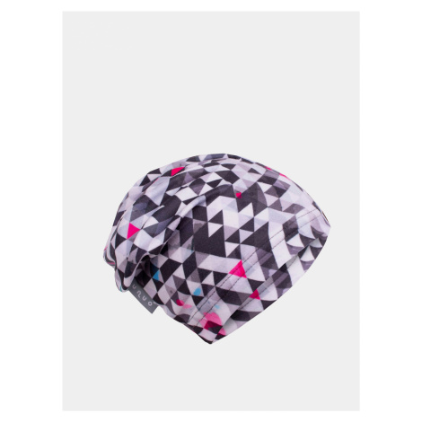 Šedá dievčenská fleecová čiapka Unuo