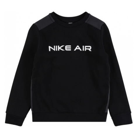 Nike Sportswear Mikina  biela / čierna / tmavosivá
