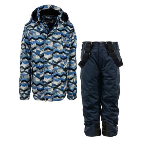ALPINE PRO BOJORO modrá - Detský lyžiarsky set