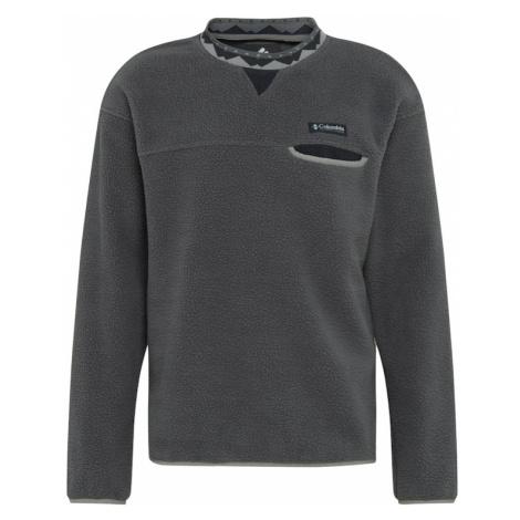 COLUMBIA Športový sveter 'Wapitoo™'  čierna / tmavosivá